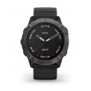 Garmin fénix 6X PRO, Black, Black band