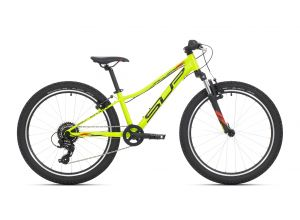 SUPERIOR Racer XC 24 Matte Lime/Black/Red 2021