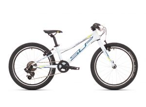 SUPERIOR Racer XC 20 Gloss White/Petrol Blue/Neon Yellow 2021