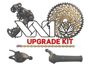 sada SRAM XX1 EAGLE Gold 1x12 upgrade