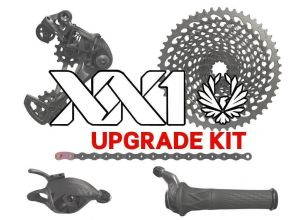 sada SRAM XX1 EAGLE black 1x12 upgrade