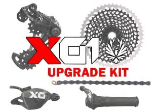 sada SRAM X01 EAGLE black 1x12 upgrade