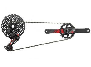 sada SRAM x01 EAGLE red 1x12 DUB BOOST